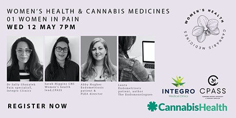 Women's Health And Cannabis Medicines: Women in Pain EO1 entradas