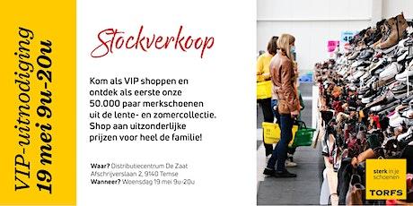 VIPdag Stockverkoop Schoenen Torfs billets