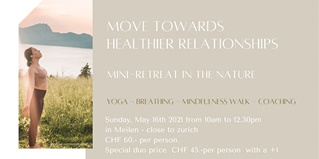 Mini-retreat in the nature: move towards healthier relationships Tickets