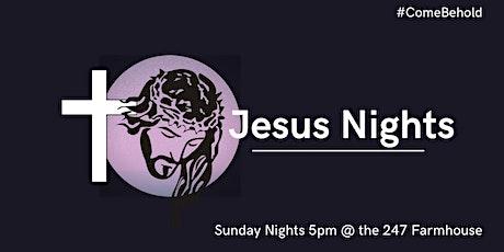 Jesus Nights tickets