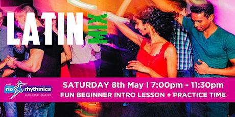 Saturday Night Latin Dance Intro Lesson & Dance Night tickets