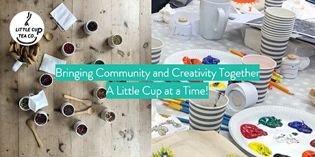 Taste & Create!  Artistic Tea Blending Masterclass with A Little Cup tickets