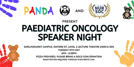 Paediatric Oncology Speaker Night tickets