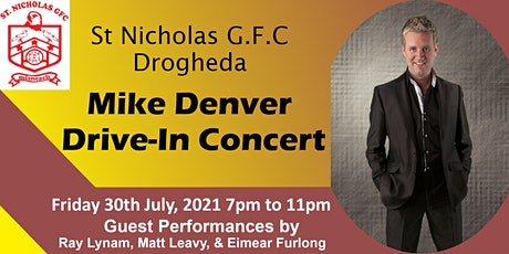 Mike Denver Live at St Nicholas GFC tickets