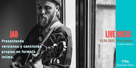 JAD - Música en vivo en Pub Games Vitoria-Gasteiz entradas