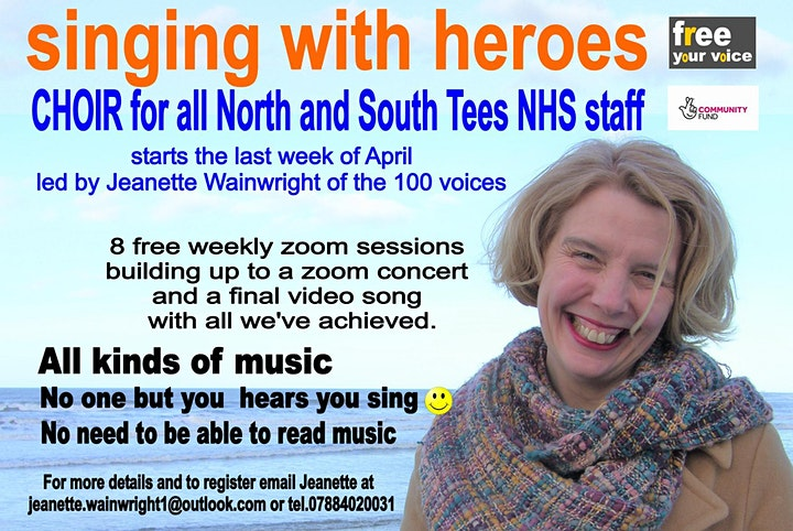 Singing With Heroes Project / Choir for all North and South Tees NHS staff image
