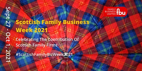 Scottish Family Business Week 2021 tickets