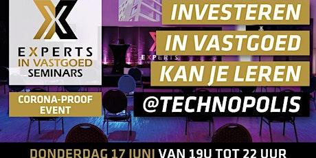 Succesvol investeren in vastgoed kan je leren incl. gratis boek twv.25 euro tickets