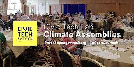 Civic Tech Lab: Climate Assemblies biljetter