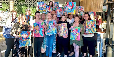 ART+WINE+BEACH (monthly sip and paint event) tickets