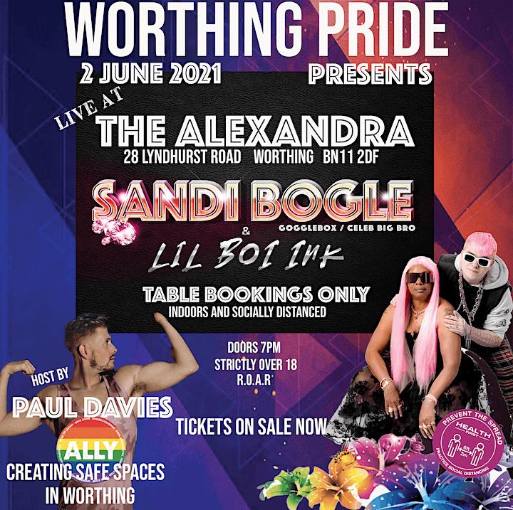 Worthing Pride Presents.. image