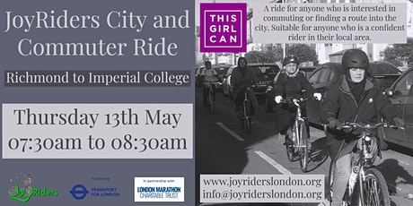 City and Commuter Ride for Women: Richmond to Imperial College tickets