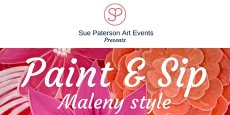Paint & Sip morning indulgence tickets