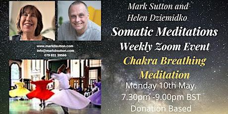 Somatic Meditations: Chakra Breathing tickets