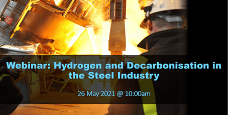 Webinar: Hydrogen and Decarbonisation in the Steel Industry tickets
