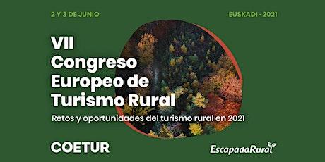 COETUR 2021: VII Congreso Europeo de Turismo Rural entradas