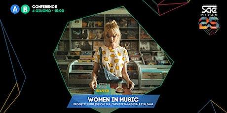 Women in Music: progetti e riflessioni sull'industria musicale italiana biglietti