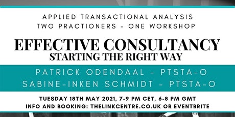 Effective Consultancy: Starting the right way! tickets