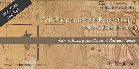 XVII Encuentro de Egiptología entradas