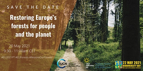 Restoring Europe's forests for people and the planet tickets