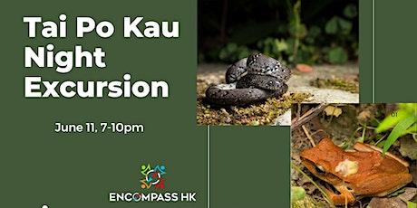 Tai Po Kau Night biodiversity excursion tickets