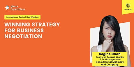 GEC  International - Winning Strategy for Business Negotiation tickets