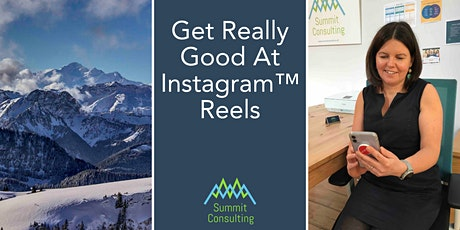 Get Really Good At Instagram™ Reels tickets