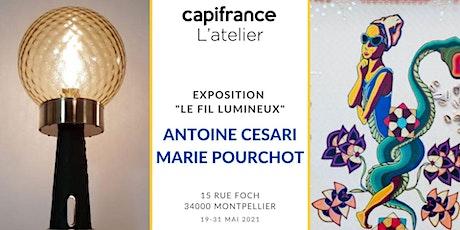Rencontre avec Antoine Cesari  et Marie Pourchot billets