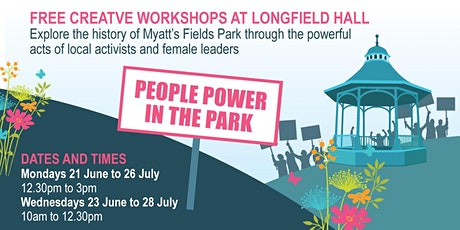 People Power in the Park Workshops tickets