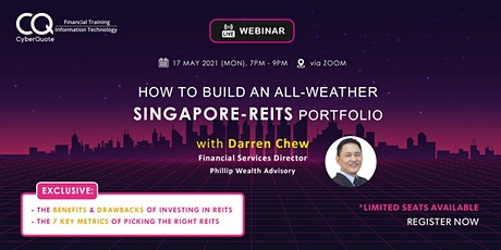 How to Build an All-Weather S-REITs Portfolio tickets