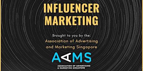 Basics of Influencer Marketing tickets