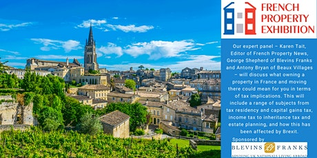 Tax: owning a French property and living in France billets