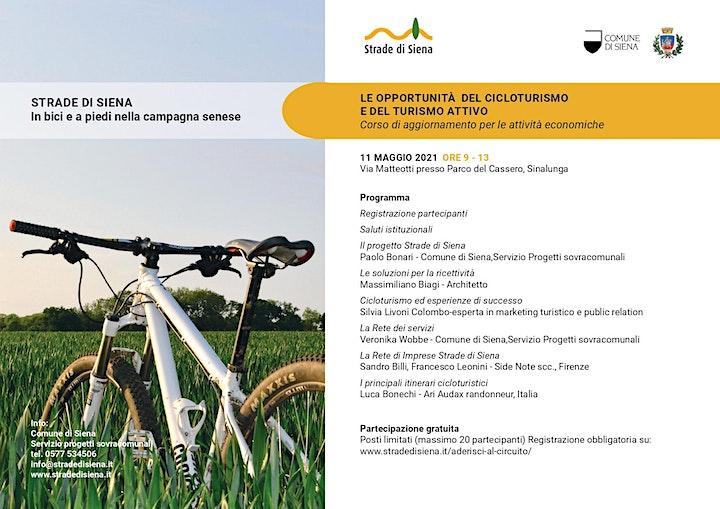 Immagine Strade di Siena - Le opportunità del cicloturismo e del turismo attivo