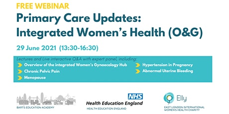 Primary Care Updates:  Integrated Women's Health (O&G) tickets