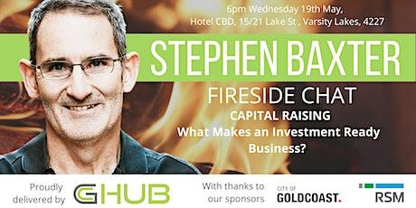 Steve Baxter Fireside Q&A tickets