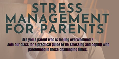 Stress Management For Parents tickets