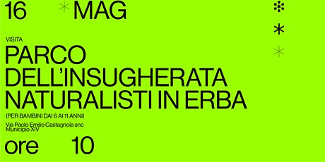 Naturalisti in erba tickets