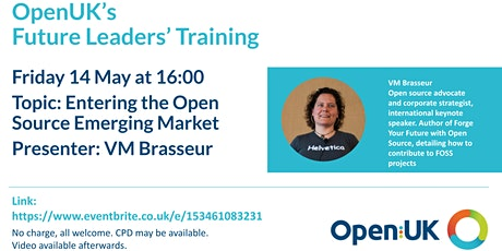 Entering the Open Source Emerging Market - Future Leaders Training tickets