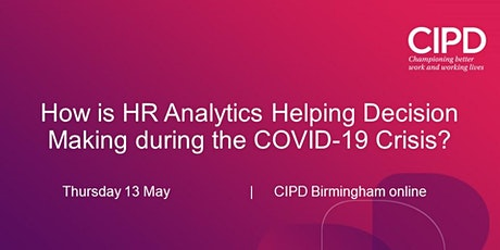 How is HR Analytics Helping Decision Making during the COVID-19 Crisis? tickets