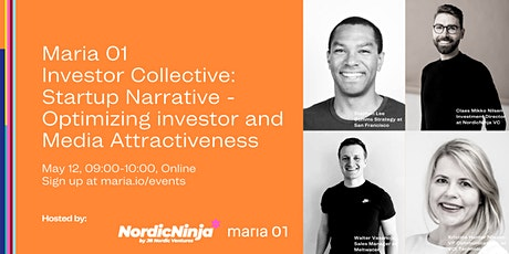 Maria 01 Investor Collective: Optimizing Investor and Media Attractiveness tickets