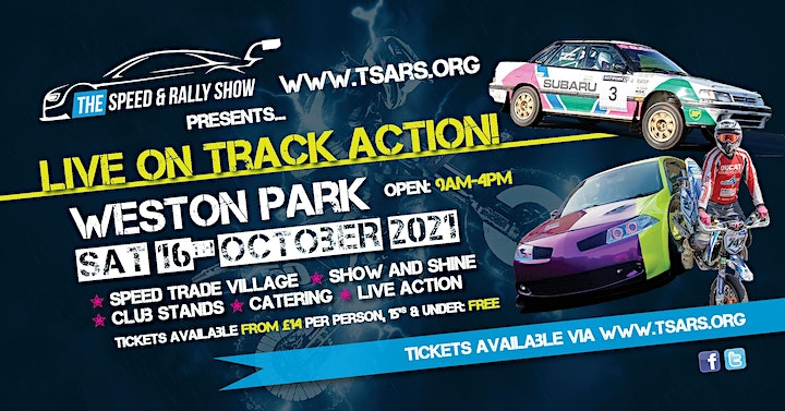 Speed and Rally Show including Rally Revival at Weston Park image