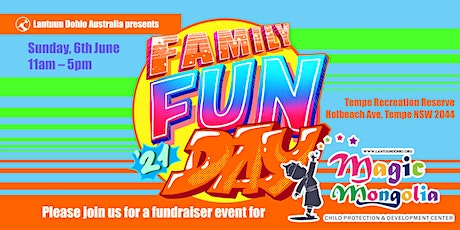 Family Fun Day (Fundraising Event for Magic Mongolia) tickets