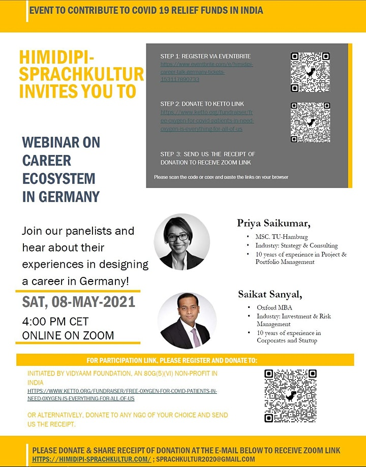 Webinar on Career Ecosystem in Germany image