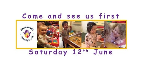New Families'Open Day tickets