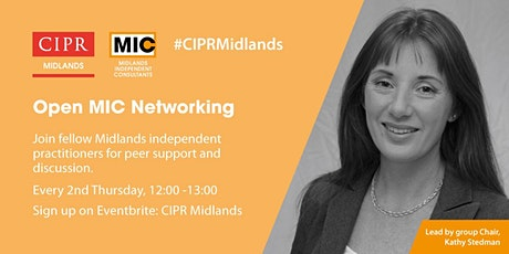 CIPR Midlands Moment - OpenMIC Networking tickets