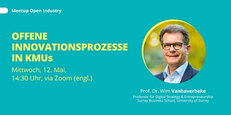 Wim Vanhaverbeke: Open Innovation in SMEs Tickets