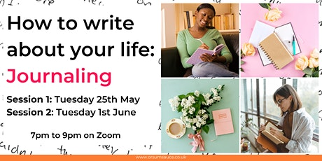 How to write about your life: Journaling tickets