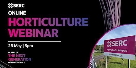 SERC Horticulture Courses Webinar tickets