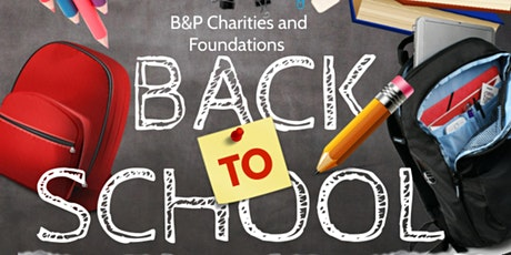 B & P Charity & Foundations Back To School Giveaway boletos