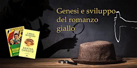 Conferenza sulla genesi e sviluppo del romanzo giallo biglietti